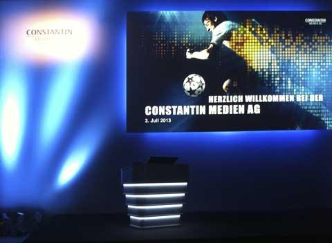 Constantin Medien Ag Aktie